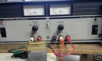 Bipolar Power Supply Amplifier Fully Tested -35v -5a 20khz Bw 175wt