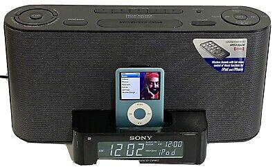 Sony ICF-C1IPMK2 Clock Radio with built-in iPod®/iPhone™ Dock (Black)