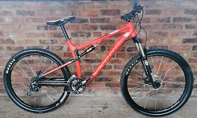 "Kona Precept DL 120 Full Suspension Mountain Bike MTB. 18.5"""