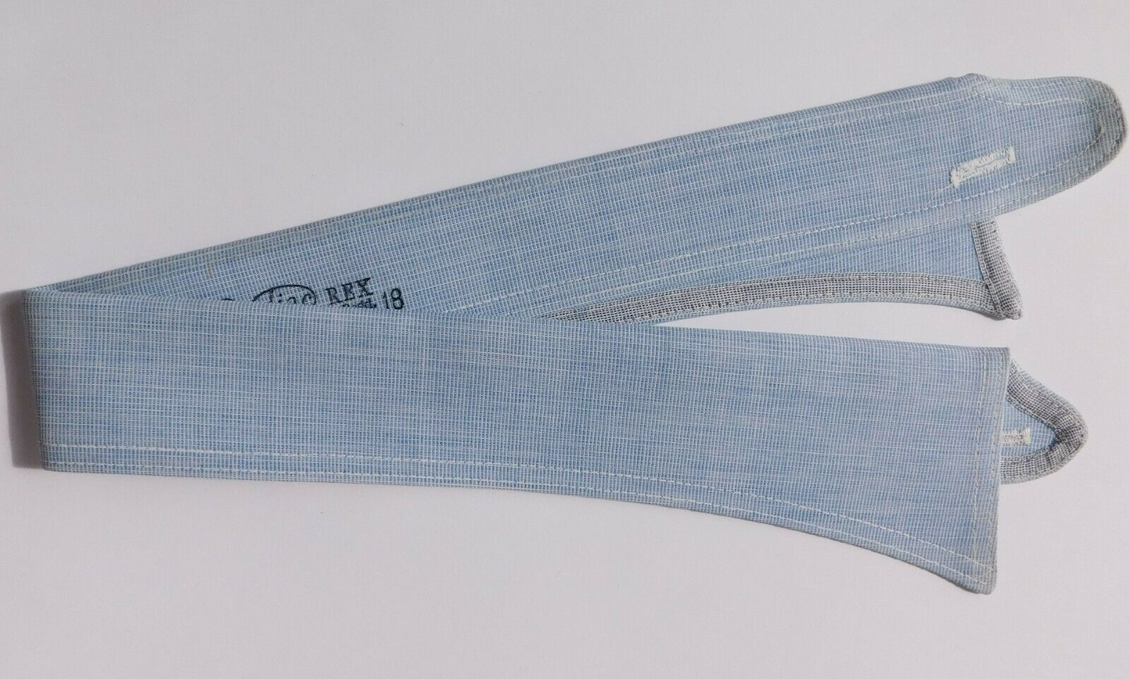 Radiac Rex shirt collar size 18 RAF blue semi-stiff UNUSED vintage detachable