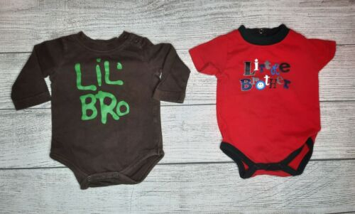 Pre-owned Baby Boy Clothes 2 piece Lot ~size Newborn, little