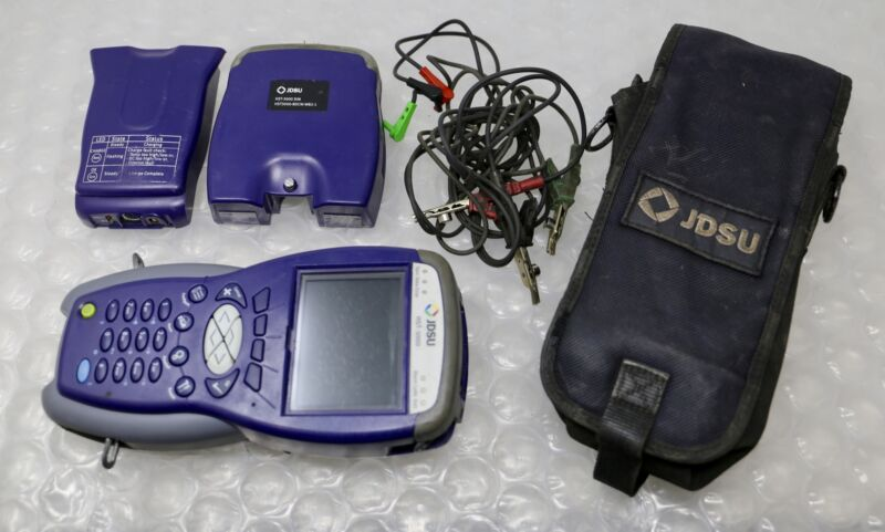 ACTERNA JDSU HST-3000 - Copper Cable Tester with Color Display and BDCM-WB2 SIM