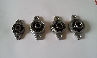 ETUCFL015 Lagergehäuse Flanschlager Lagerbock UCFL015 für 15 mm Welle