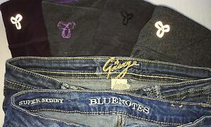 teens clothing - gently worn leggings and jeans
