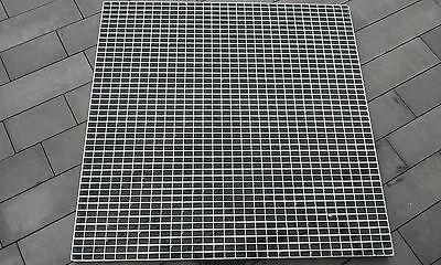 Industrie Gitterrost 1000x1000x 20/30 Tragstab 40/3mm Befahrbar schwerlastgitter