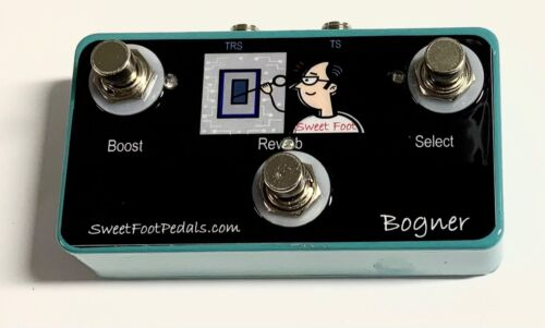3 Button Footswitch for Bogner Shiva Control Boost, Channel, Reverb HANDMADE USA