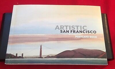 Artistic San Francisco Postcard Book of 20 with reproductions of SF Fine Artwork
