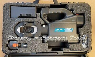Tb Tbm15bscr Thomas Betts 15 Ton Hydraulic Battery Crimper Die Crimping Tool