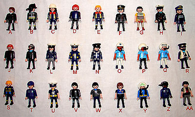 Playmobil Pick & Choose POLICE CROOKS FIRE & RESCUE FUGURES 1.99-2.49 w/Combined