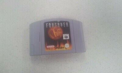 Forsaken N64 Game Used PAL Region
