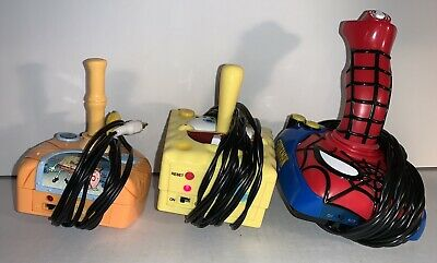 Jakks TV Plug N Play Video Games Spongebob,Spider Man