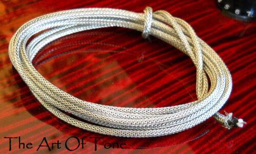 Gavitt Guitar Wire 22AWG w/ Vintage 2-strand Exterior Braided Shield - 12 Feet