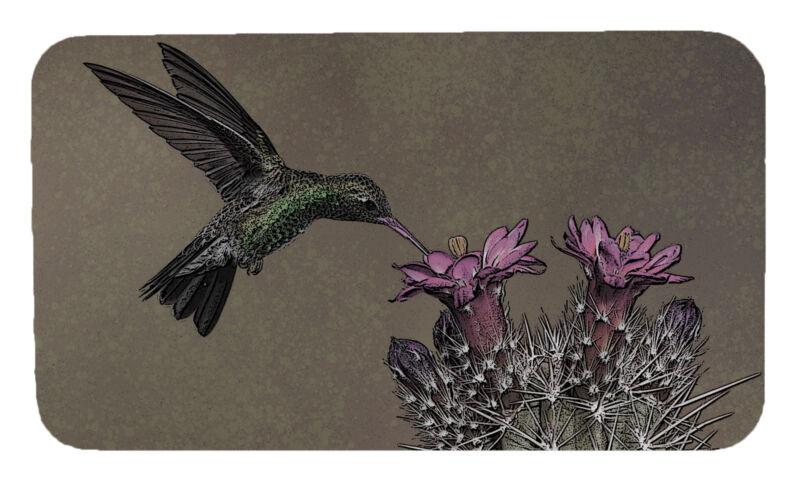 Hummingbird Cactus Screen Door Magnet Screen Saver Magnet Set Made In USA