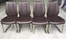 Great 4 modern dining chairs for sale. Ferntree Gully Knox Area Preview