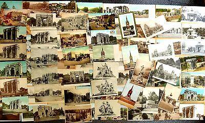 Kensington Arch (89 Postcards Hyde Park Wellington & Marble Arches Kensington Gardens LONDON UK)