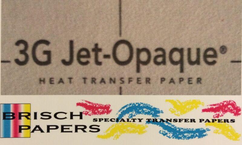 "INKJET TRANSFER PAPER FOR DARK FABRIC: NEENAH ""3G JET OPAQUE"" (8.5""X11"") 50 CT"