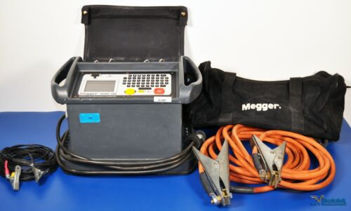 Megger DLRO200 200A Digital Low Resistance Ohmmeter 200 Amp NIST Calibrated Data