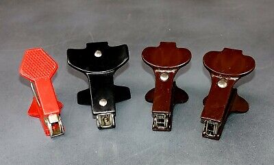 Lot Of Four 4 Standard Staple Removers Pullers 1 Swingline 3 Unbranded