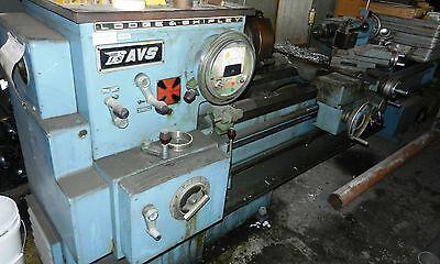 Lodge Shipley Metal Lathe 22 X 72 Variable Speed 2 Threw Hole Wvs