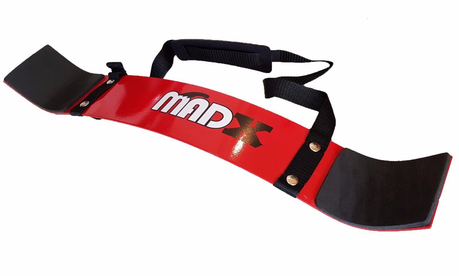 MADX Fitness Biceps Isolateur armes Blaster Arm Bomber Poids Erse de levage