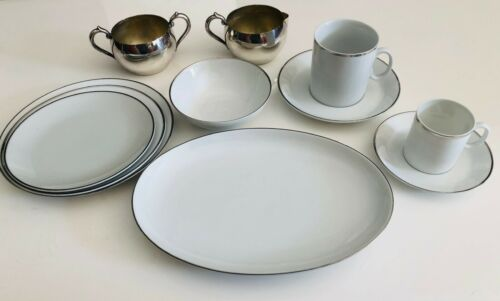 Eastern Airlines - 11 Piece Place Setting with Cream and Sugar