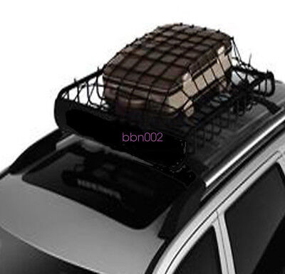 Car Roof Rack Cover Network Luggage Carrier Cargo Basket Elasticated Net On Sale