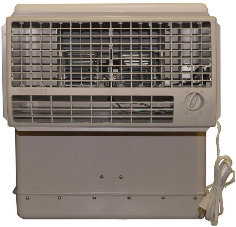 Window Evaporative Cooler Swamp  600 sq ft  Champion Cooler 2800 CFM 2 Speed