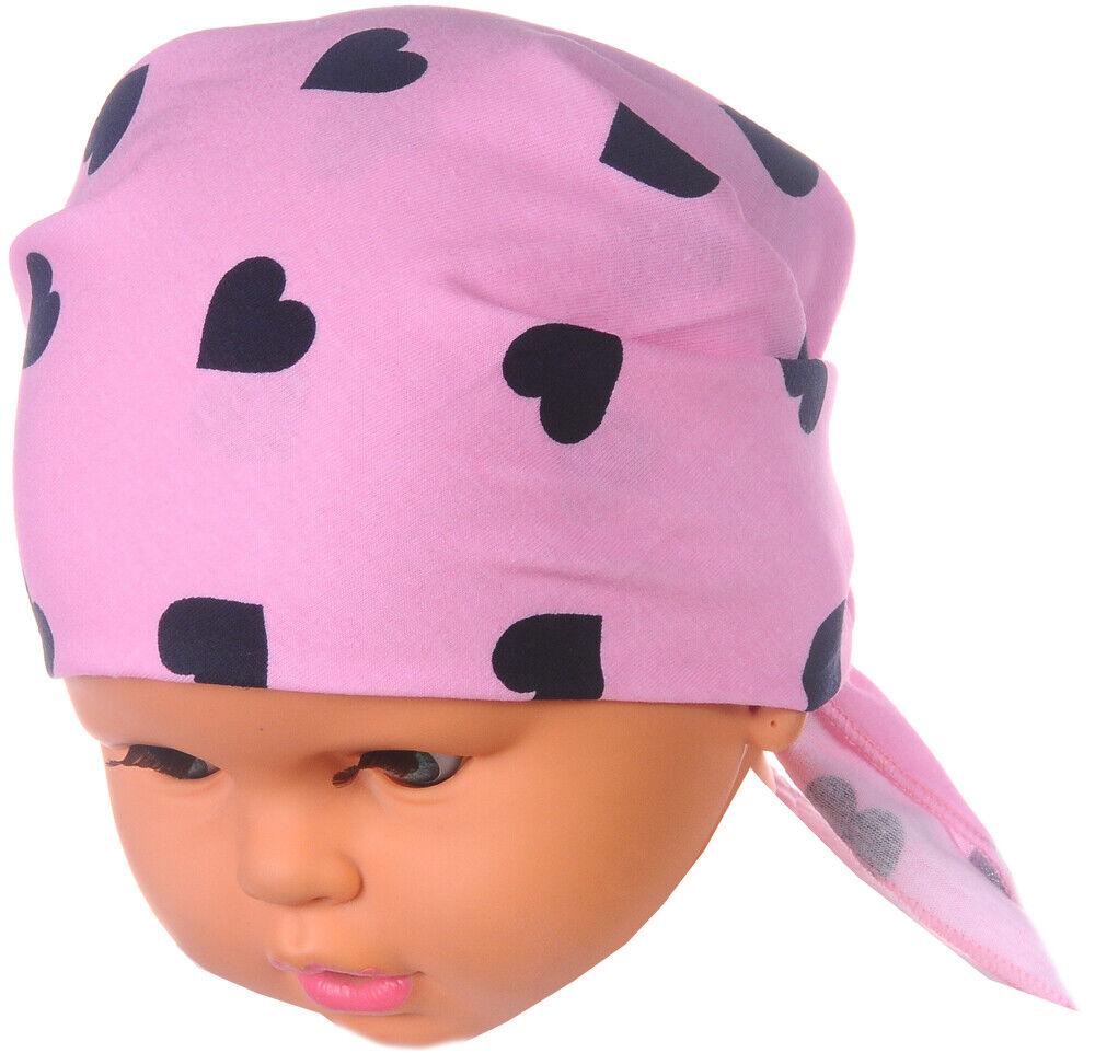 Kopftuch Baby Kinder Sommer Tuch Stirnband Mützchen Kopfbedeckung Bandana Mütze