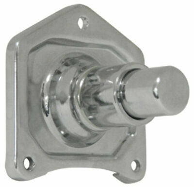 Mid USA Chrome Solenoid Cover Push Button Starter Harley Big Twin 1991-2017