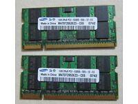 Samsung 2GB (2x1GB) PC2 M470T2953EZ3-CE6