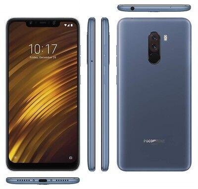 Xiaomi Poco PocoPhone F1, Dual SIM, Blu Acciaio, 128GB / 6GB, Garanzia Ufficiale