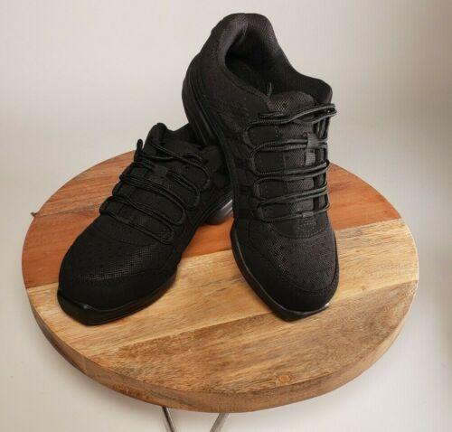 Capezio Dansneaker DS24 Rock It Split Sole Black Size 5.5 US