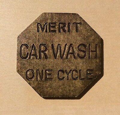 Merit Car Wash One Cycle - Token