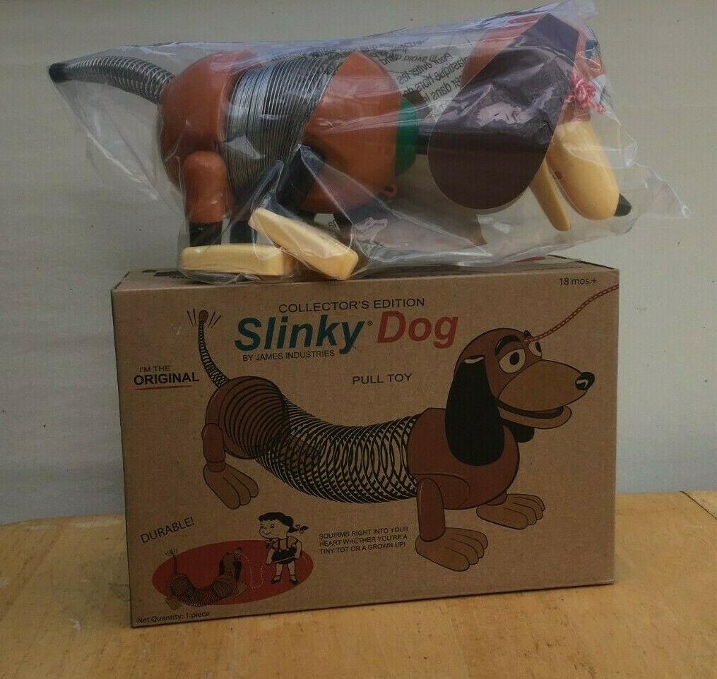 New in Box SLINKY DOG COLLECTOR'S EDITION 2011 Sealed in Plastic
