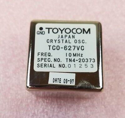 Toyocom Tco-627vc 10 Mhz Crystal Oscillator New