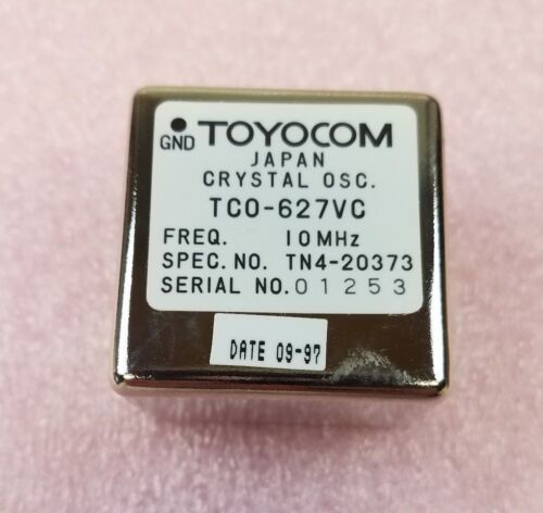 TOYOCOM TCO-627VC 10 MHz Crystal Oscillator **NEW**