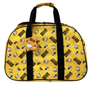 Hello-Kitty-Duffle-Bag-Yellow-Bee