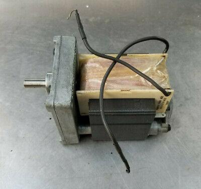 Vintage Usa Ac Gear Motor 100 Rpm C-frame 115 V-ac Ecm-1512 Schaumburg Ill