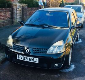 Renault Clio Sport 172. Reliable and such fun to drive.