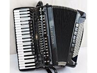 Victoria Double Cassotto 120 Bass Accordion with Hand Made Reeds & Bass MIDI