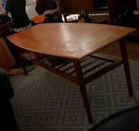 Danish Coffee Table Solid Wood