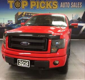 2014 Ford F-150 FX4 CREW CAB, LUXURY, LEATHER, NAVIGATION, MINT!