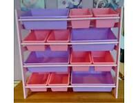 Girls toys organiser/cabinet