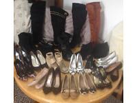 Huge bundle of woman shoes size 39(6)