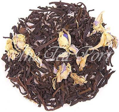 Black Currant Loose Leaf Flavored Black Tea - 1/4 lb Black Currant Flavored Tea