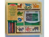 Ex-Display Melissa and Doug Stamp Set Only £4 (Pets)