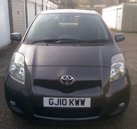 2010Toyota Yaris 1.3 VVT-i TR 5dr FULL SERVICE HISTORY WARRANTY (t-z awesome-cars)
