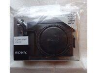 Sony LCJ-HN digital camera case for Cyber-shot HX50 / HX50V / HX60 / HX60V