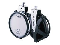 """Roland V Drums PD-85 Electronic 8"""" TOM / SNARE Dual Trigger Mesh pad - several available"""