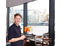 Waiter Waitress + great pay + training